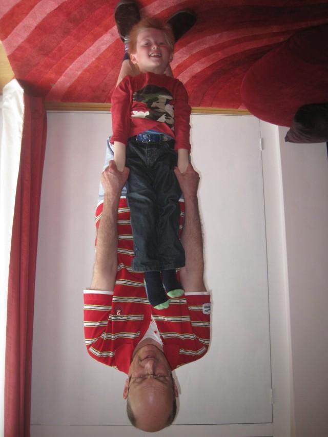 who ia upside down